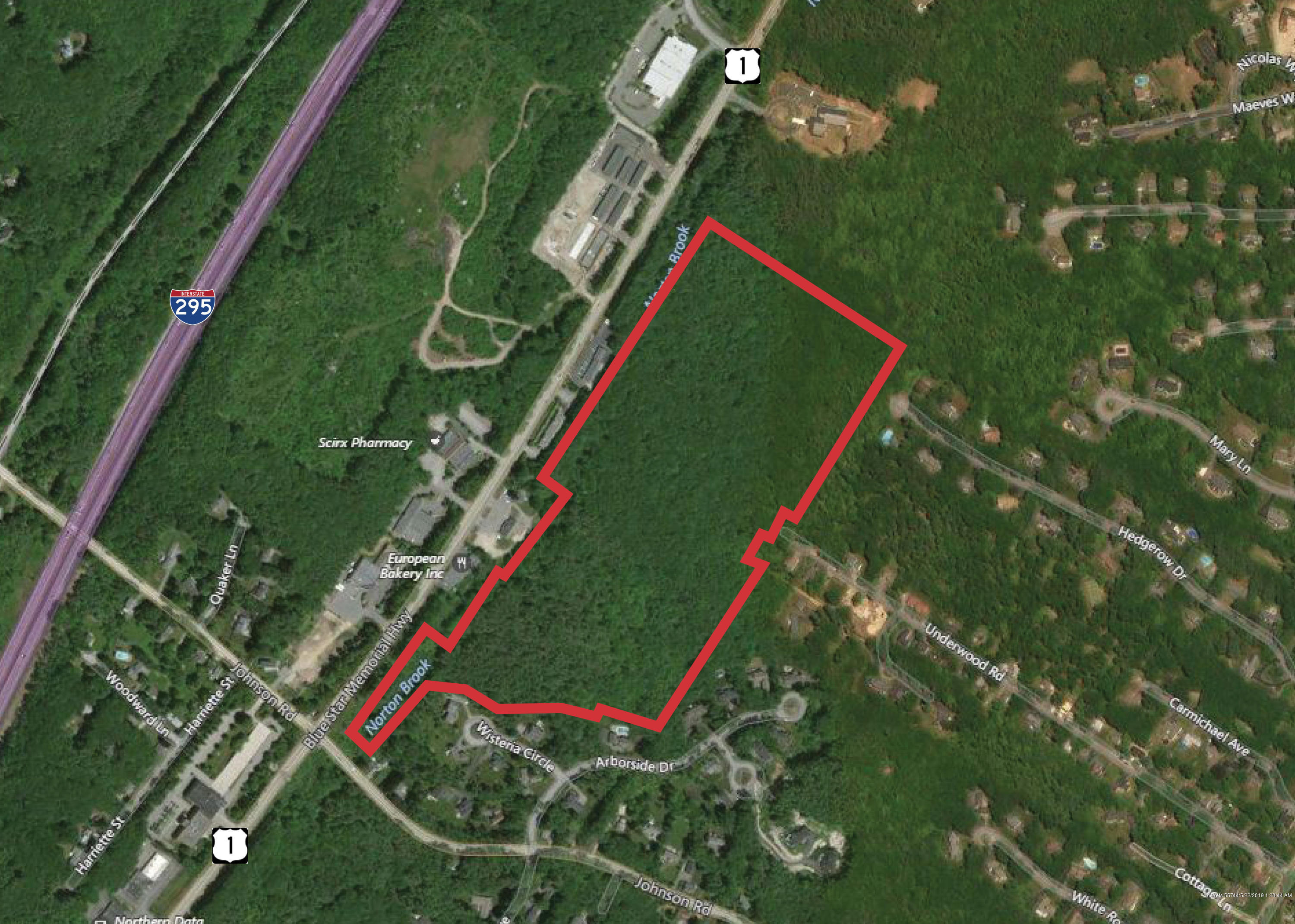 0 Us Route 1 Falmouth 04105 F O Bailey Real Estate - Map-of-us-route-1